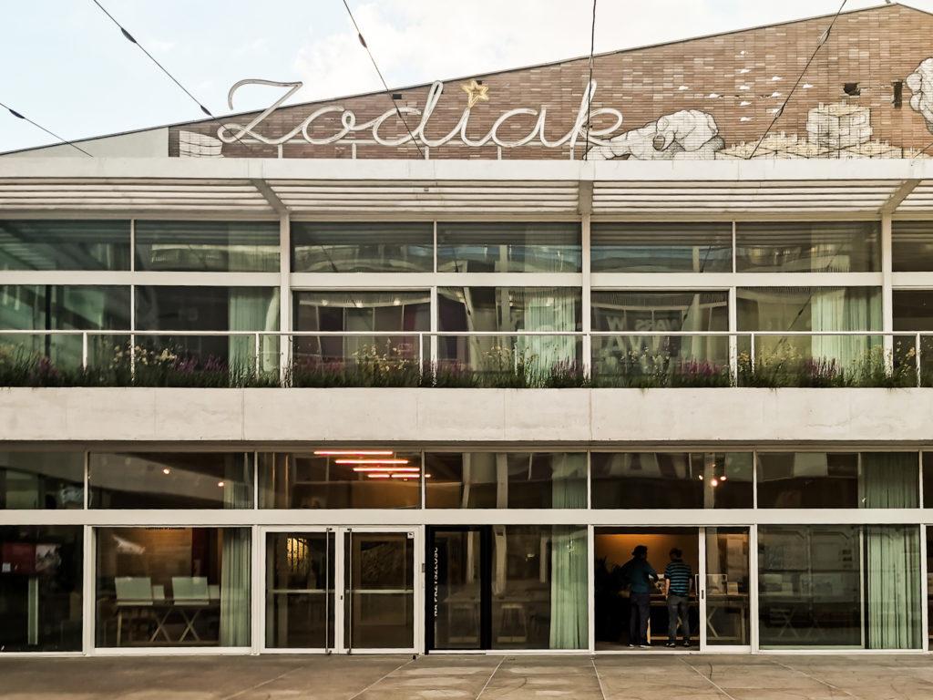 zodiak pawilon architektury Warszawa