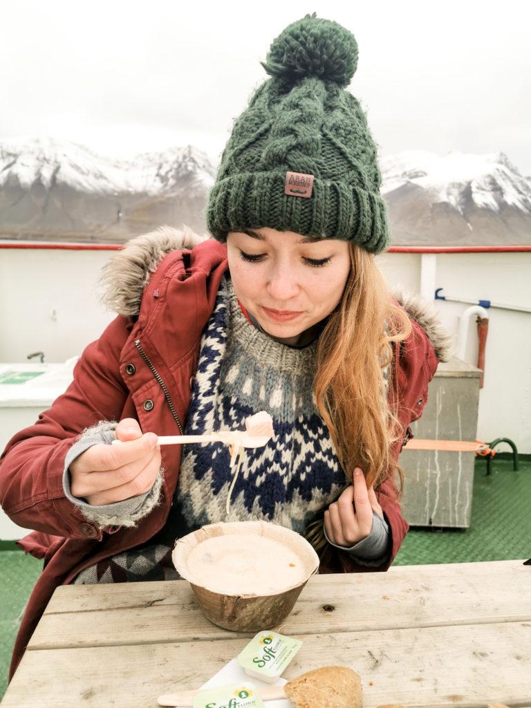zupa z łososiem i porem