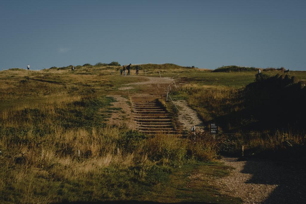 Birling Gap i Belle Tout Lighthouse, latarnia morska seven sisters, aglia