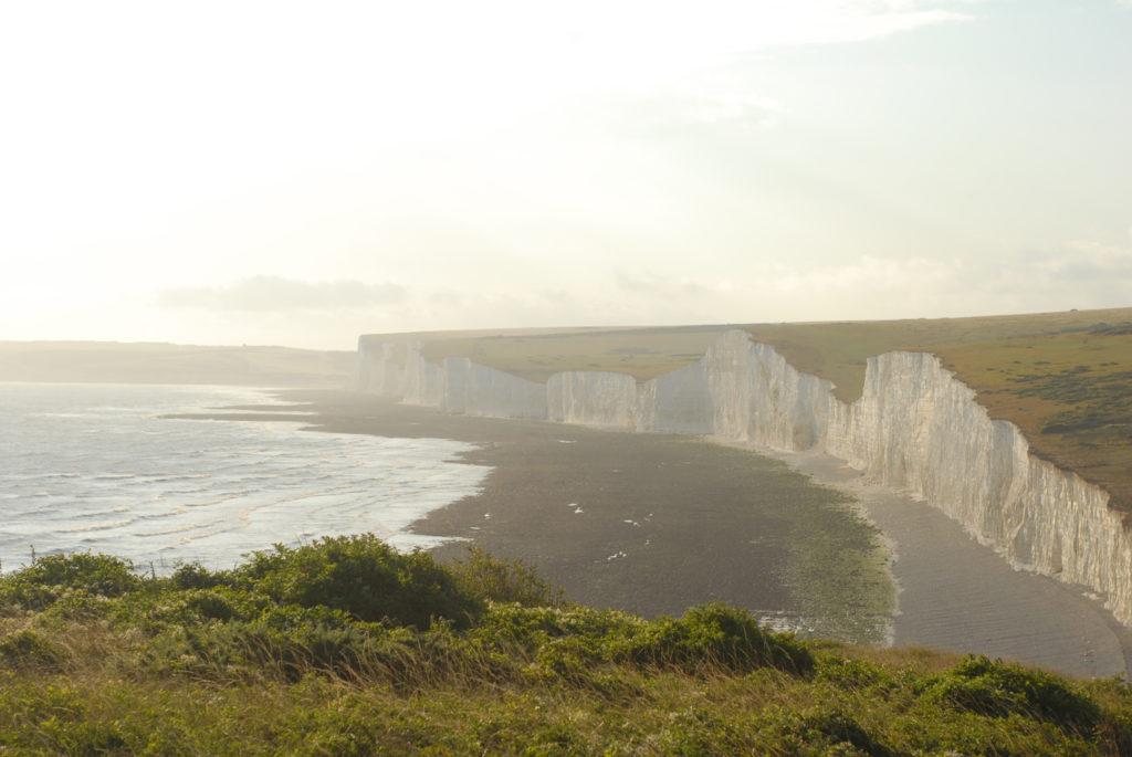 seven sisters, pokuta, set jetting, film location anglia, Birling Gap i Belle Tout Lighthouse