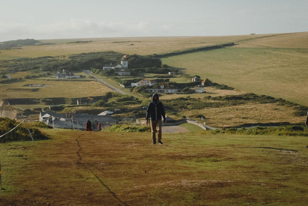 co zobaczyc w Anglii, Birling Gap i Belle Tout Lighthouse